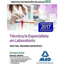 Técnico/a Especialista en Laboratorio del Servicio Extremeño de Salud (SES). Test