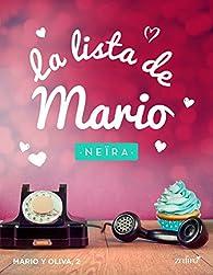 La lista de Mario par Andrea Longarela