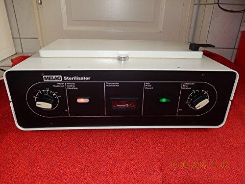 MELAG Typ:71 Heißluftsterilisator mit Gebrauchsanweisung als Scanbild oder PDF Test