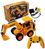 #6: High Quality JCB Toy Set For Kids Remote Controllable JCB Truck MAchine Set Toys For Kids Truck Excavator With Lightning Wheels With 320 Degree Hand Rotation Non-Toxic Toys For Kids JCB Truck Remote Control Toy For Kids Bulldozer Hercules Power Driving Super Truck For Children JCB Earth mover Truck For Kids Rock Crawler JCB Truck Electric Truck Monster JCB Truck Toy For Kids ForkLifter Truck Best Quality Remote Controller Truck For Children