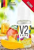 V2 Vape Mangorama concentrado intensivo de mango en dosis altas sabor a comida 10ml 0mg libre de nicotina