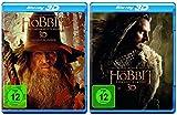 Der Hobbit: Smaugs Einöde + Eine unerwartete Reise Teil 1+2 * 3D Blu-ray Set