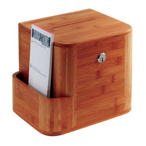 Preisvergleich Produktbild Safco Kummerkasten aus Bambus mit zwei Schlüsseln