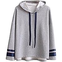 PAOLIAN Damen Herbst Winter Kapuzenpullover Mode Frauen Langarm Hoodie Sweatshirt Pullover Bluse Tops preisvergleich bei billige-tabletten.eu