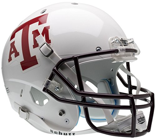 Schutt NCAA Texas A&M Aggies Replica XP Helm, Alt. 1