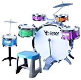 #9: RIANZ All New Imported Jazz Drum Set Musical Toy for Kids Best Birthday gift