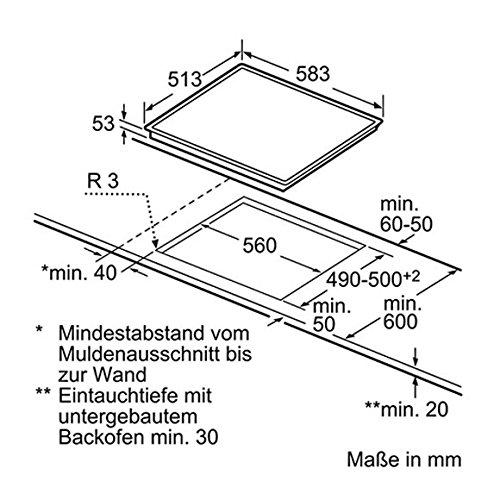Neff TB 4830 N Induktionskochstelle Kochfeld autark Kochstelle Küche Einbauherd - 2