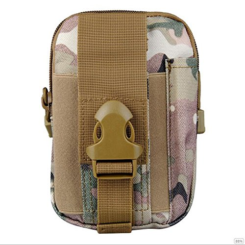 GOUQIN Outdoor Rucksack Klassische Mode Outdoor Display Handy Taschen Paket Outdoor Rucksack Intrusion Defense Plattform Mit Paket Klettern Taschen 2 Camouflage