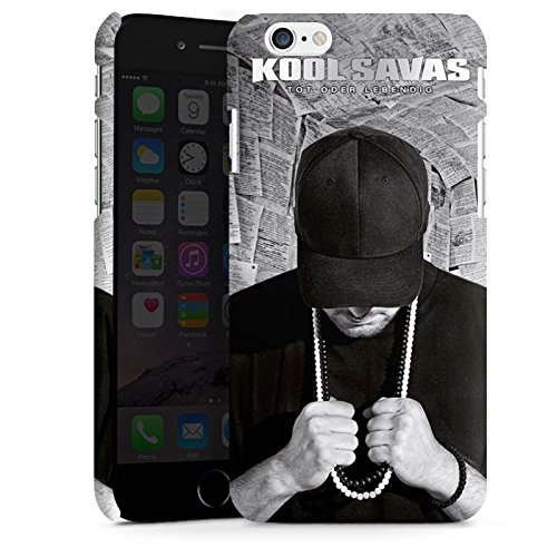 Apple iPhone 7 Hülle Case Handyhülle Kool Savas Fanartikel Merchandise Tot oder Lebendig - Album Artwork Premium Case matt