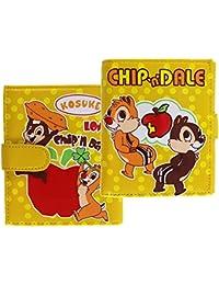 Disney's Chip n' Dale Yellow Polka Dot Tri-Fold Soft Touch Wallet