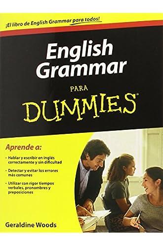 English Grammar Para Dummies / English Grammar For Dummies