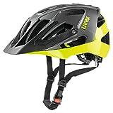 Uvex Quatro Fahrradhelm, Neon/Yellow, 52-57 cm