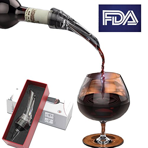 Asien Durable Wine Aerator Pourer Fashion Aerating Wine Decanter Spout Pourer for Party/Gift
