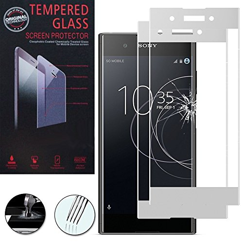 ShopInSmart® 2x Hochwertige gehärtete Panzerglasfolie für Sony Xperia XA1 Plus 5.5