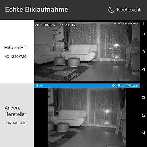 HiKam S5 mini drahtlose IP Überwachungs-Kamera - 4