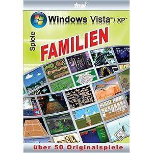 Über 50 Familien-Spiele für Windows Vista / XP
