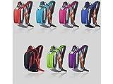 OVVO Einzigartiges Desigh 18L Trinkblase Rucksack Einstellbare Taktische Wasser Rucksack für Radfahren Radfahren Reisen Wandern (Blau)