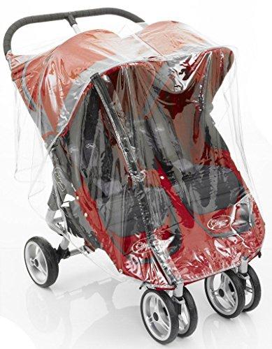 Regenschutz Kinderwagen City Mini Double und GT mit Baby - City Mini Double Jogger
