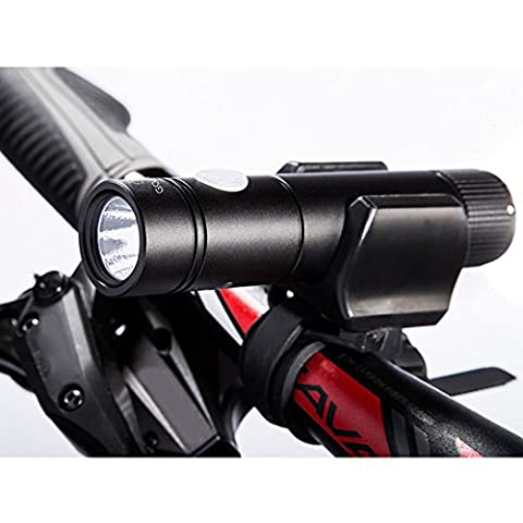 Pygex(TM) Mini Cycling Bicycle LED Front Light Headlight Portable Waterproof Rechargeable Bike Flashlight MTB Head Lamps Emergency Torch