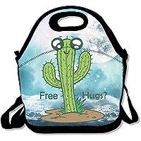 Cactus gratis Hug tragbar Lunch Tote wiederverwendbar Picknick Lunchpaket Boxen Kinder Erwachsene preisvergleich bei kinderzimmerdekopreise.eu