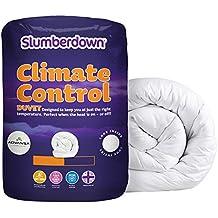 Slumberdown 13,5 Control de temperatura de edredón para cama doble, blanco