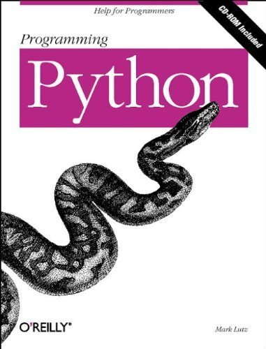 Programming Python by Mark Lutz (1996-10-03)