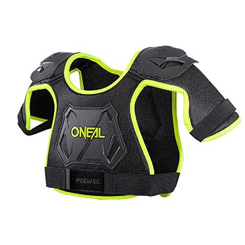 O\'Neal Peewee Kids Oberkörper Protektor 4-9 Jahre Kinder Mini Motocross MX Offroad Neon Gelb Schutz, 0251-40, Größe M/L
