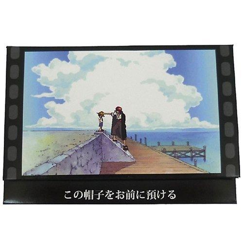 Ich ?berlasse es Ihnen, diesen Hut Luffy 2 / One Piece Szenenname Blotting Papier (mit Spiegel) Zeichentrickfigur Waren Versand (Japan-Import) - Blotting-papier