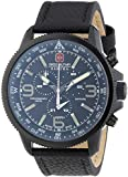 Swiss Military Hanowa Herren-Armbanduhr XL ARROW Chrono Analog Quarz Leder 06-4224.13.007