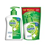 Your Trusted Dettol offers a new and improved Dettol skincare liquid handwash. It is specially formulated to protect you from 100 illness causing germs. It gives 10 times better protection than any ordinary soap.  Recommended by the Indian Medical As...
