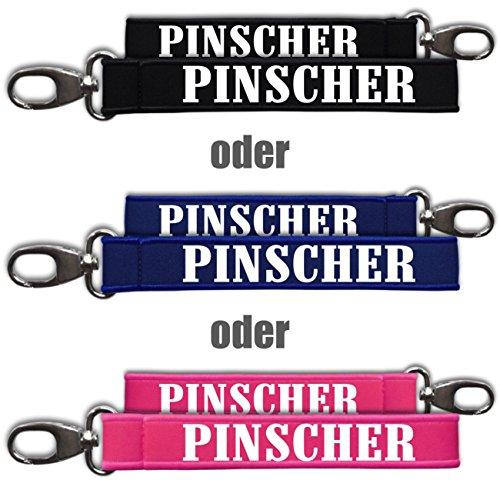 Neopren Schlüsselanhänger Deutscher Pinscher -