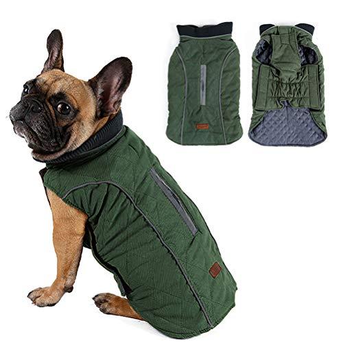 Outgoings kalter hund streicheln mantel jacke weste warm outfit kleider für kleine bis mittlere große hunde haustier hunde kleider (Für Hunde Outfits Große)