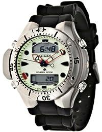 Citizen - JP1060-01W - Montre Homme - Quartz analogique - Bracelet en polyurethane noir