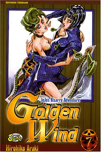 Jojo's bizarre adventure - Golden Wind Vol.7 par ARAKI Hirohiko