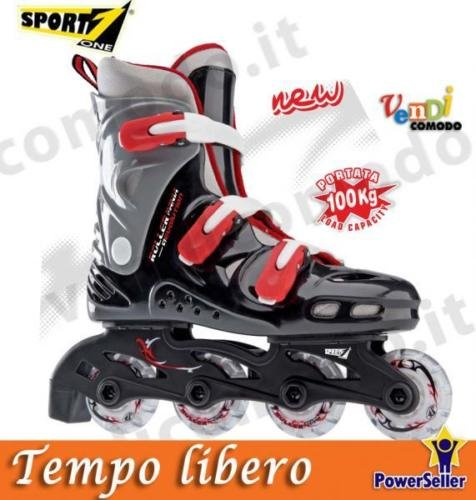 SPORT ONE Roller Mania Pattini in linea 35-36