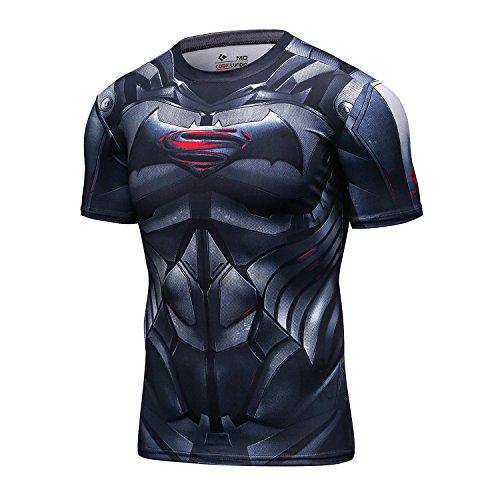 mbaxter-herren-t-shirt-laufshirt-mit-marvel-comics-logo-tee-printed-rundhalsausschnitt-fitness-short