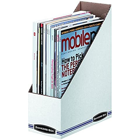 Bankers Box Stor/File Magazine Holders, Letter, 12 Pack (10723) by Bankers Box