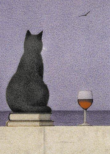 postkarte-a6-katze-am-meer-von-inkognito-grusskarten-fantastik-kunstler-quint-buchholz