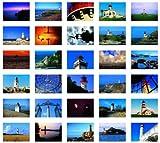 Leuchtt?rme /Lighthouses: Postkartenbuch