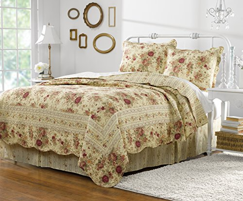 Greenland Home Antique Rose Full/Queen Quilt Set by Greenland Home