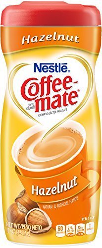 Coffee-Mate Hazelnut Powdered Coffee Creamer, 15-Ounce Packages (Pack of 6) by Coffee-mate [Foods] -