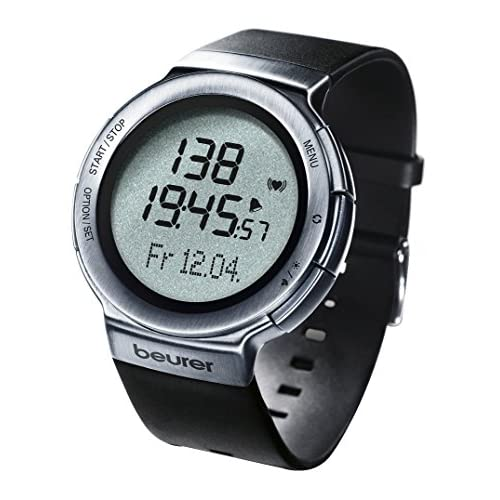 51HuGuXqdcL. SS500  - Beurer PM 80 Heart Rate Monitor - Dark Grey