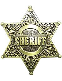 7723e1bd1c37c3 Gürtelschnalle Western Sheriff Stern Cowboy 3D Optik für Wechselgürtel  Gürtel Schnalle Buckle Modell ...