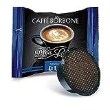 Don Carlo Caffè Borbone Kaffeekapseln, kompatibel mit A Modo Mio, Schwarz, 100 St.