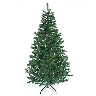 Gift 4 All Occasions – Árbol de Navidad Artificial con Soporte de Metal, en Forma de Pino, con 230 Puntas, 1,2 m, Color Verde