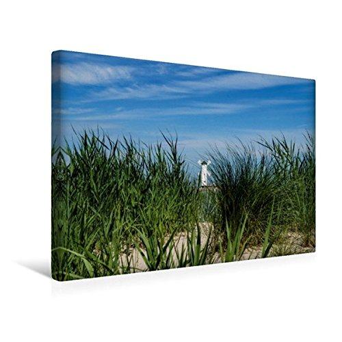 Calvendo Premium Textil-Leinwand 45 cm x 30 cm quer, Mühlenbake Swinemünde | Wandbild, Bild auf Keilrahmen, Fertigbild auf echter Leinwand, Leinwanddruck Orte Orte