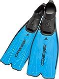 Cressi Rondinella aletas para snorkel y natación italiano calidad desde 1946, azul