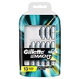 Gillette, Mach 3, Set di lame di ricambio per rasoio, 13 pz. immagine