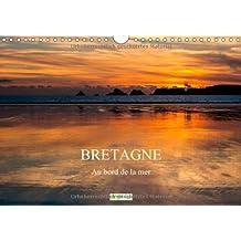 Bretagne - Au bord de la mer - F-Version (Calendrier mural 2014 DIN A4 horizontal): Impressions bretonnes (Calendrier mensuel, 14 Pages)