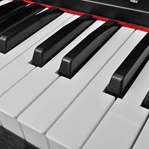 vidaXL Klassische Elektro 88-Tasten Digital Piano E-Piano Keyboard Klavier Notenablage - 4